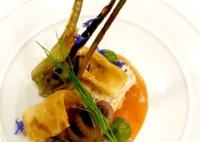 Chef Gabriel Martin's Artichokes and Moja Sauce