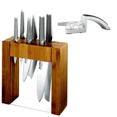 Professional knife set for chefs