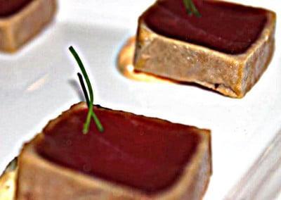 Chef Yosuke Furukawa's Spicy Tuna Tutaki with Garlic Soy
