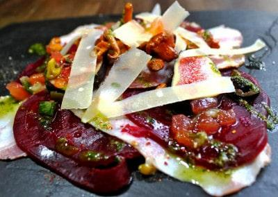 Chef Christian Etchebest's Beetroot Slate