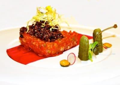 Chef Alessandro Frau's Angus Beef Tartare