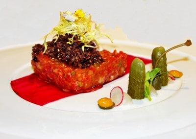 Chef Alessandro Frau's Angus Beef Tartare