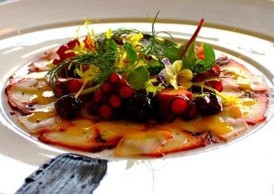 Chef Alessandro Frau's Sous Vide Octopus Salad