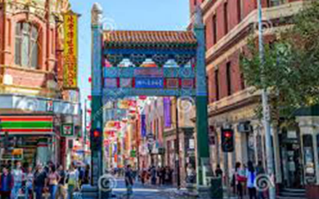 Melbourne's Chinatown, a must visit.