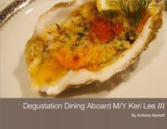 Degustation cookbook