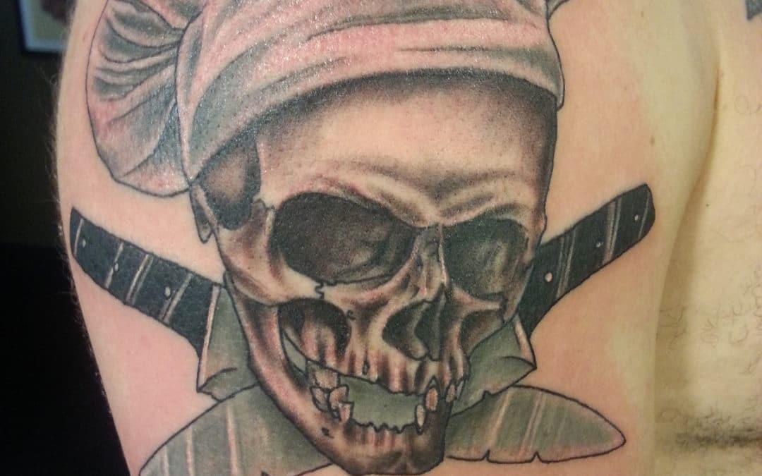 Hardcore Chef Tattoo