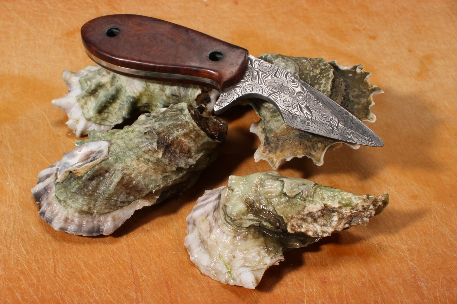 custom oyster shucker